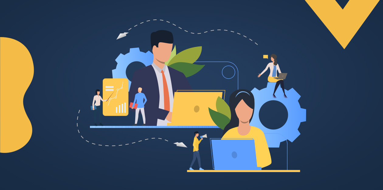 Employee Benefits graphic including remote workers