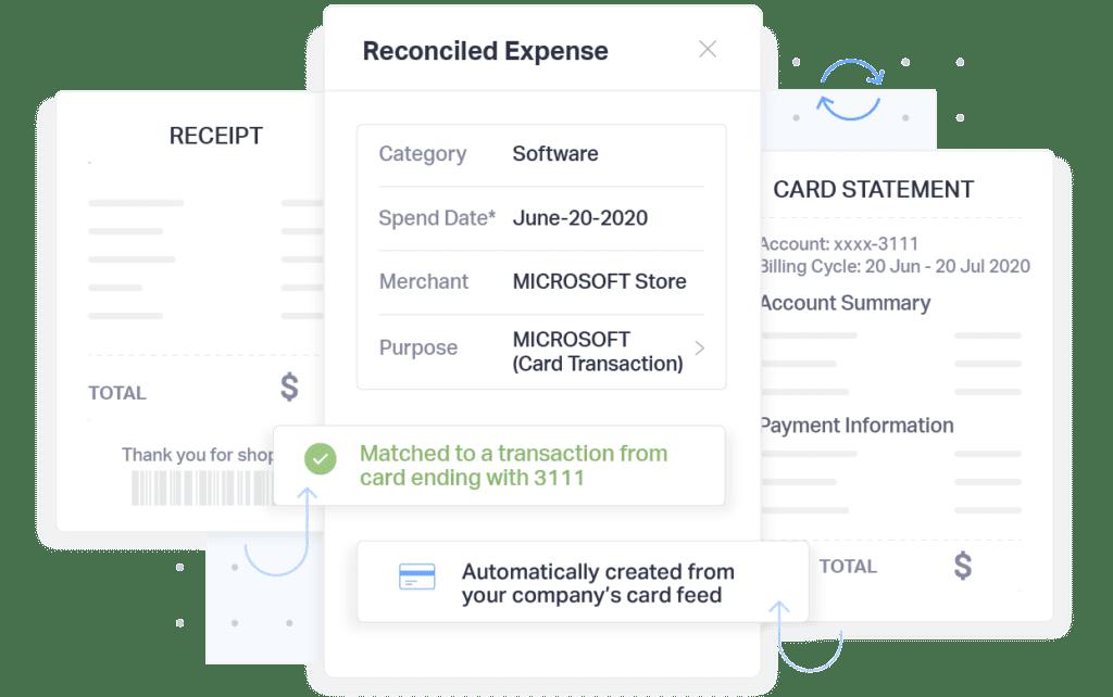 Fyle Expense Management Automatic Reconciliations
